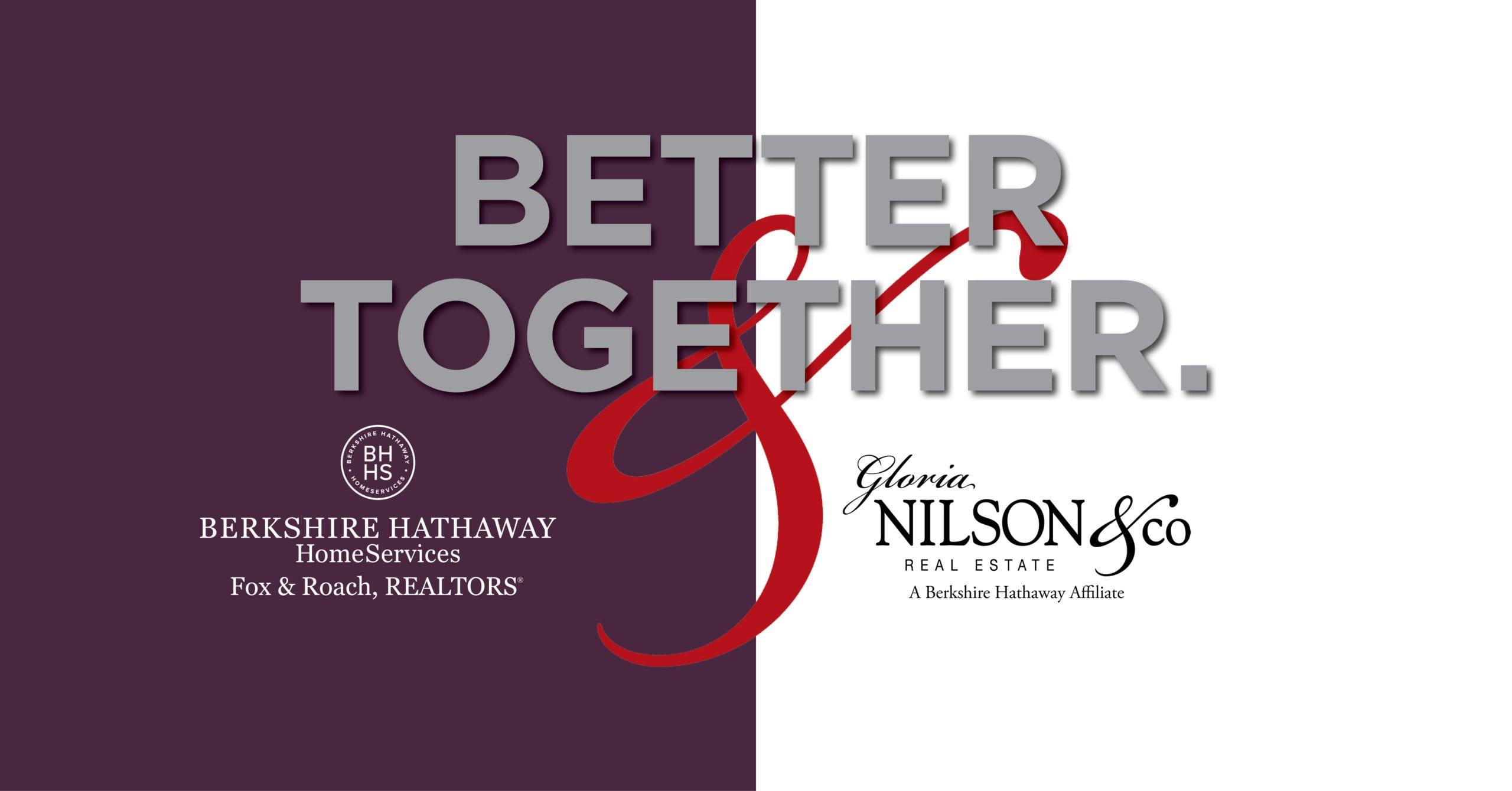 Berkshire Hathaway HomeServices Fox & Roach, REALTORS® and Gloria Nilson & Co. Announce Merger